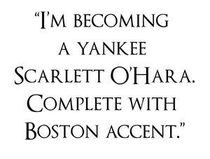 Yankee-scarlett-o'hara