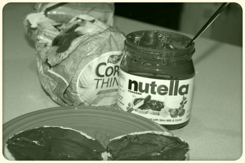 I'm snacking