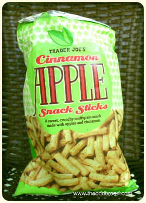 Trader Joe's Cinnamon Apple Snack Sticks
