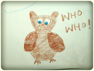 Who!  Who!