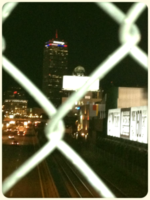 Prudential Center Red White and Blue