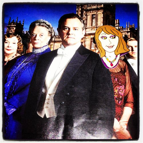 An Odd Broad in Downton Abbey