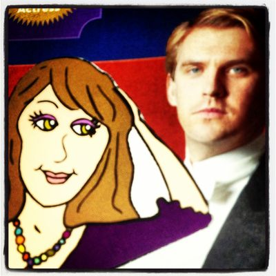 Me and Cousin Matthew Crawley