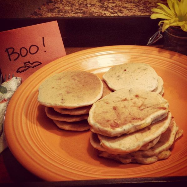 Beer & Bacon Mancakes