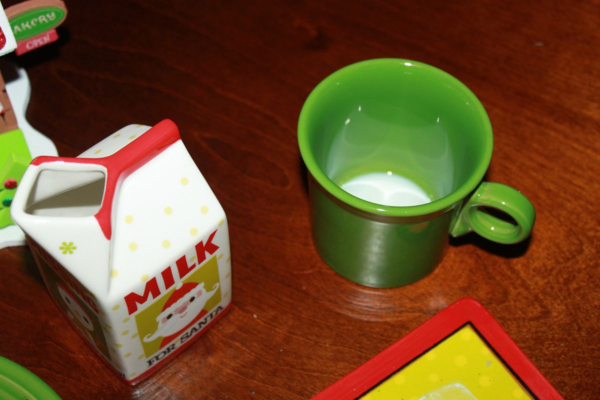 Santa Drank His Milk!